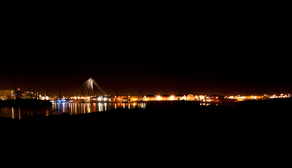 Southport Marine Lake and Bridge