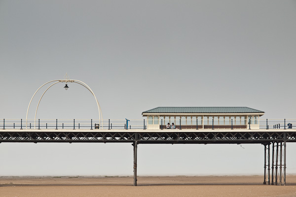 Southport Pier in the Fog