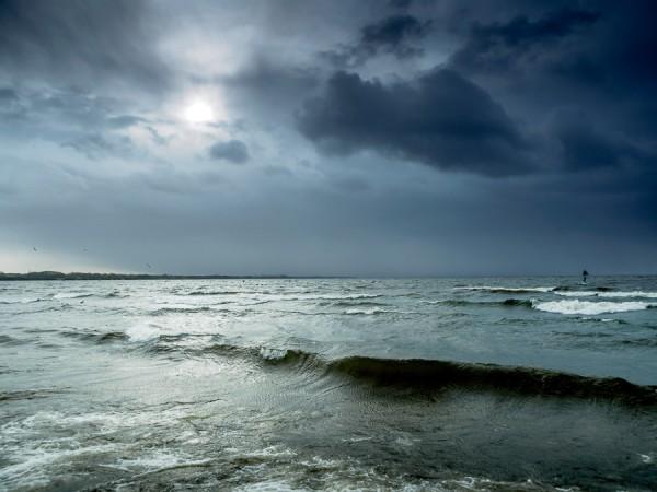 Overcast Lough Neagh